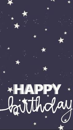 Birthday Posts, Happy Birthday, Birthday Post Instagram, Instagram Photo Editing, Instagram Story Template, Handwriting, Photo Art, Templates, Wallpaper