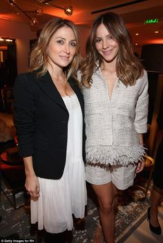 Pretty young things:Actresses Sasha Alexander (L) and Katharine McPhee (R) put their most...
