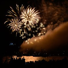From the Celebration of Light fireworks show on August 1, 2015 in Vancouver, B.C.