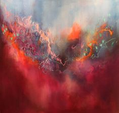 Abstract Artist: Georgina Vinsun Medium: Oil Website: www.georgiepaint.com I paint gently expressive, romantic abstracts, which...