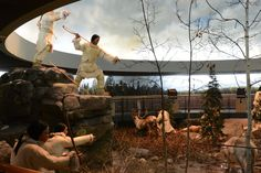 Museum Visit: Mashantucket Pequot Museum by Corinne Mandell