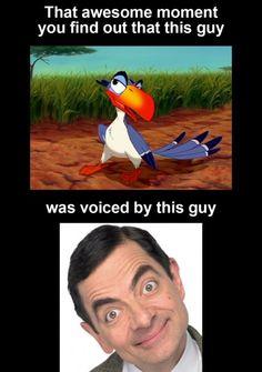 Mr. Bean !
