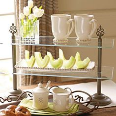 Host a Willow House party with sales of $750 or more and get the Belle Meade Entertaining Stand for JUST $10!
