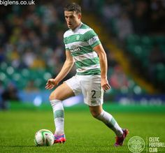 Celtic 2-1 Dundee, 22nd November 2014. Adam Matthews in action for Celtic