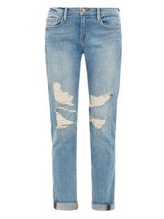 Frame Denim Le Garçon Lucielle mid-rise boyfriend jeans