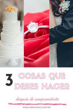 Lo que debes hacer después de comprometerte. Comienza a planear tu boda. #boda #wedding #planearboda Engagement Rings, Jewelry, Fashion, Hipster Stuff, Enagement Rings, Moda, Jewels, Fashion Styles, Schmuck