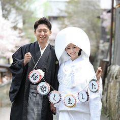 【chiaki0211wedding】さんのInstagramをピンしています。 《和装前撮り* お天気にも恵まれ最高のロケフォトになりました♡ #白無垢 #和装前撮りロケーション #桜 #白無垢と桜 #手作りガーランド #結婚しました #卒花嫁 #日本中の卒花嫁さんと繋がりたい #日本中のプレ花嫁さんと繋がりたい》