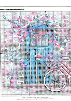 ru / Фото - Dimensions Afternoon in Provence - bambooceee Cross Stitch House, Cross Stitch Books, Cross Stitch Flowers, Cross Stitch Charts, Cross Stitch Designs, Cross Stitch Patterns, Cross Stitching, Cross Stitch Embroidery, Dimensions Cross Stitch