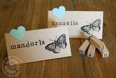 BluebellsDesign: Confetti e farfalle