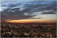 São 19 horas em BH... 7 PM in Belo Horizonte