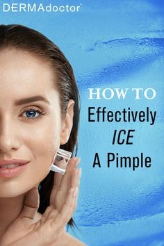 It's free simple and in every home. Yes it is ICE! Ice can be effective on acne and pimple. Learn now on: How To Effectively Ice A Pimple Care Skin Condition and Treatment Oil Makeup Pimples Under The Skin, How To Get Rid Of Pimples, Acne And Pimples, Acne Prone Skin, Ice On Pimples, Acne Skin, Oily Skin, Glow Skin, Natural Oils For Skin