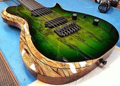 Check out this cool SCB7H Carvin Guitars seven string.