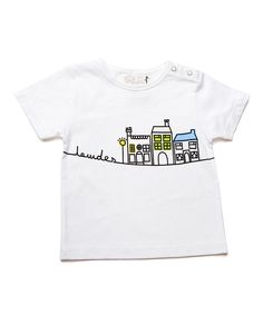 Do graphic --- This White City Snap-Shoulder Tee - Infant, Toddler & Boys by Lourdes is perfect! #zulilyfinds