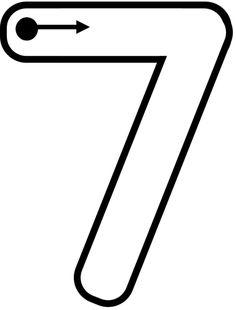Numbers Kindergarten, Numbers Preschool, Learning Numbers, Preschool Worksheets, Preschool Learning, Preschool Activities, Teaching The Alphabet, Teaching Math, Number Crafts
