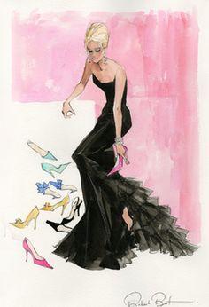 Robert Best Print #Shoeaholic #Barbie