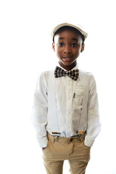 Page Boy looking so cute. Dressed by Mommy