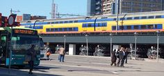 HAM IN HOLLAND: Bikes and trains