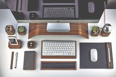 Met deze bureauset ben je stijlvol en verantwoord bezig Roomed | roomed.nl