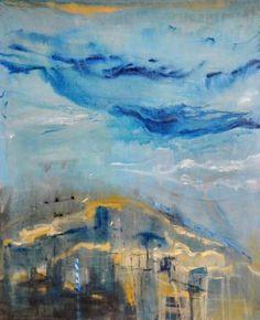 "Saatchi Art Artist Monika Vitanyi; Painting, ""sign of turistic paths"" #art"