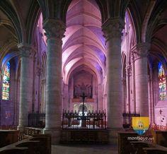 Église de Lagny sur Marne, Jeanne d'Arc, Abbatiale XIIIe - montjoye.net châteaux et patrimoine