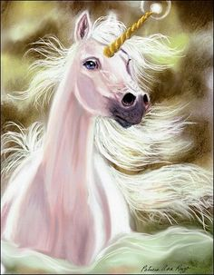 Unicorns in the Enchanted Forest by Patricia Ann Rizzo
