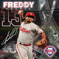 Apoyando el talento nacional #Photoshop #diseñodigital #mlb #deportes #LVBP #beisbol #baseball #phillies #philadelphia #aguilasdelzulia #freddygalvis