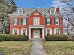 1880 Second Empire For Sale In Quincy Illinois — Captivating Houses York Pennsylvania, Winding Staircase, Mansions For Sale, Second Empire, Old House Dreams, Real Estate Companies, Neoclassical, Stained Glass Windows, Historic Homes