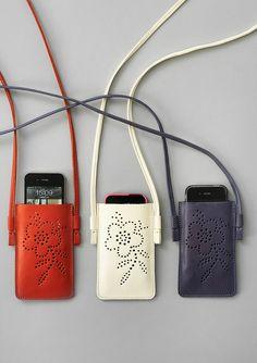 Pochette mobile en cuir–Accessoires–GUDRUN SJÖDÉN – Kläder Online & Postorder