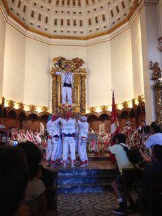 El Ball de Pastorets a l'ofrena de la Misa Solemne
