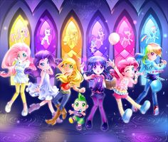 my+little+pony+friendship+is+magic | Magical Pony Girls! - My Little Pony: Friendship is Magic...