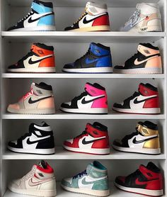 Find images and videos about shoes, nike and sneakers on We Heart It - the app to get lost in what you love. Jordan Shoes Girls, Girls Shoes, Jordan Boots, Boy Shoes, Cute Sneakers, Shoes Sneakers, Air Jordan Sneakers, Zapatillas Nike Jordan, Nike Air Shoes