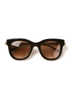 Thierry Lasry Sunglasses :: Thierry Lasry black Sexxxy sunglasses | Montaigne Market
