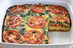 Make this vegetable bake easily with stuffing mix, pre-shredded cheese and frozen chopped spinach. That's why we call it Easy Layered Vegetable Bake. Veggie Recipes, Snack Recipes, Cooking Recipes, What's Cooking, Healthy Recipes, Kraft Recipes, Vegetable Dishes, Vegetable Bake, Veggie Bake