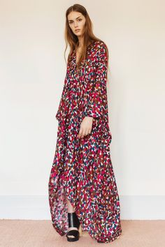 Agave Kaftan by #Rodebjer In Store and Online @ThirdStreetHabit #Style #Prints