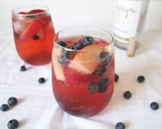 Montalvo Country: Red, White and Blue Sangria
