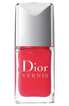 Dior 'Vernis' Nail Lacquer in Psychedelic Orange