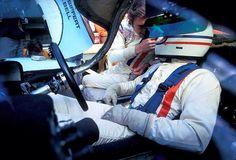 Derek Bell and Jo Siffert, Porsche Le Mans 1971 (unattributed). Sports Car Racing, Racing Team, Sport Cars, Road Racing, Derek Bell, Peugeot, Course Automobile, Le Mans 24, Concours Photo
