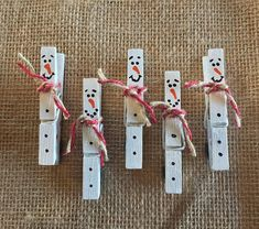 Wooden Snowman Clothespin Magnets Snowman Magnets Christmas Magnets Christmas decor Winter decor fridge magnets diychristmasgifts christmasart holidaycrafts christmascraftsforkids homemadechristmastreedecorations christmasprojects s Handmade Christmas Decorations, Christmas Ornament Crafts, Kids Christmas, Holiday Crafts, Christmas Snowman, Snowman Ornaments, Snowmen, Door Decoration For Christmas, Popsicle Stick Christmas Crafts