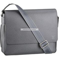 Louis Vuitton Taiga Leather Roman MM M32623 BLH
