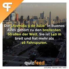 """Die """"Avenida 9 de Julio"""" in Buenos Aires gehört zu den breitesten Straßen der Welt. Sie ist 140 m breit und hat mehr als 16 Fahrspuren.  Wissen clever verpackt! . #avenida9dejulio #straße #architektur #reisen #travel #traveln #urlaub #Argentinien #reise #südamerika"""