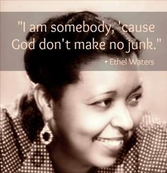 """Ethel Waters:Her best-known recordings include """"Dinah,"""" """"Stormy Weather,"""" """"Taking a Chance on Love,"""" """"Heat Wave,"""" """"Supper Time,"""" """"Am I Blue?"""" and """"Cabin in the Sky,"""" as well as her version of the spiritual """"His Eye Is on the Sparrow."""""""
