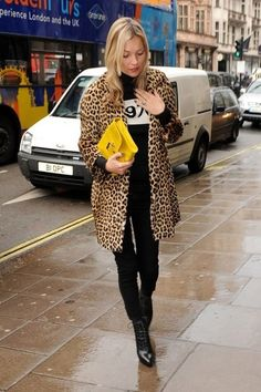 Leopard coat inspiration