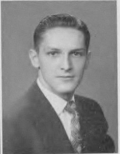 Art Lucas (deceased) from George Street Moosic College Yearbook Photo