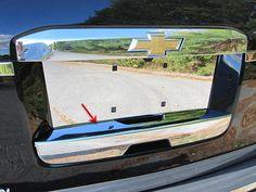 2015-2019 SUBURBAN TAHOE ESCALADE ESV Chrome Tailgate Handle COVER LOWER