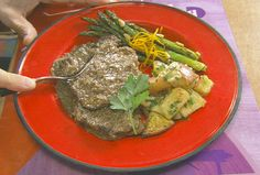 Country Style Steak recipe from Alton Brown via Food Network