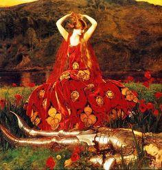 Bright star - Fanny Brawne: Lady Lilith - Dante Gabriel Rossetti