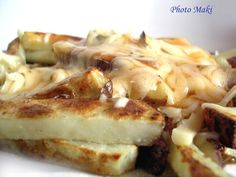 Poutine Mincavi ou Weight Watchers - La Popote de Maki - Edeline Ca. Skinny Recipes, Macaroni And Cheese, French Toast, Lose Weight, Food And Drink, Lunch, Cooking, Breakfast, Ethnic Recipes