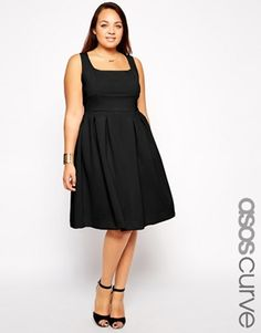 Great great GREAT dress! So much potential with this one! - ASOS CURVE Debutante Full Midi Dress