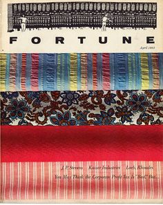 April '63 - Fortune Magazine Cover