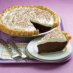 We can't decide what's better about this pie: its 5-star taste or its cost per serving. Or just the chocolate. That's good, too.
